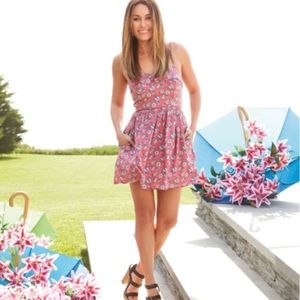 LC Lauren Conrad / Pink floral dress